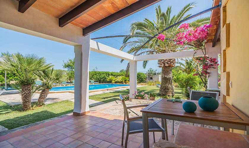 Terrasse Finca Mallorca 10 Personen PM 388