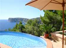 Pool und Meerblick Ferienhaus Mallorca PM 103 Nr. 68B