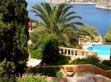 Blick auf die Ferienhäuser Mallorca Südwesten PM 103