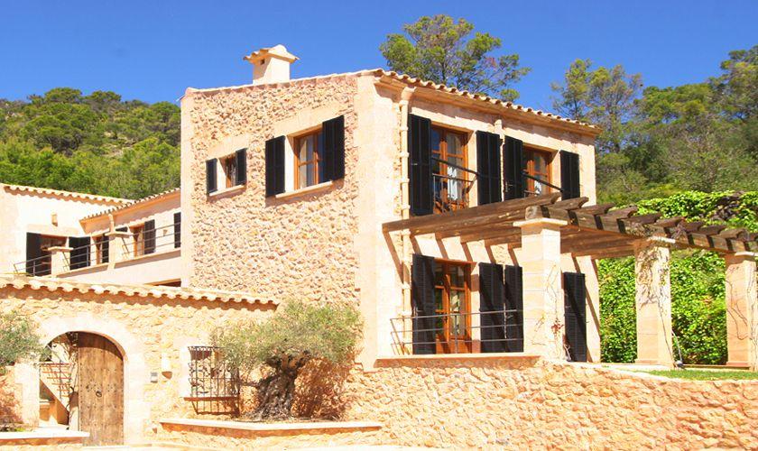 Blick auf die Luxusfinca Mallorca bei Andratx PM 105