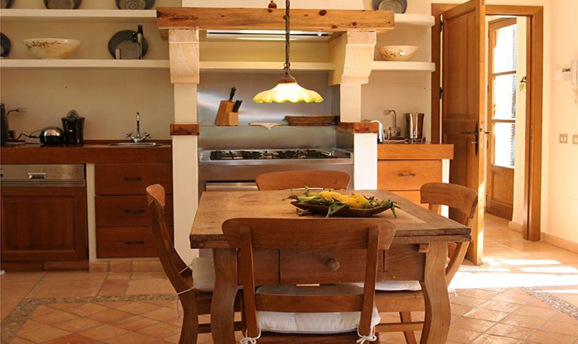 Küche Luxusfinca Mallorca Andratx PM 105