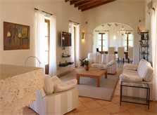 Komfortable Sofas Luxusfinca Mallorca Andratx PM 105