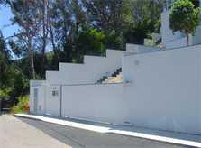 Einfahrt zur Luxusvilla Mallorca Port Andratx PM 110