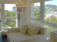 Wohnraum Luxusvilla Mallorca Port Andratx PM 110