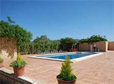 Pool und Barbecue Finca Mallorca Süden Pm 160
