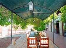 Terrasse Finca Mallorca Süden PM 160