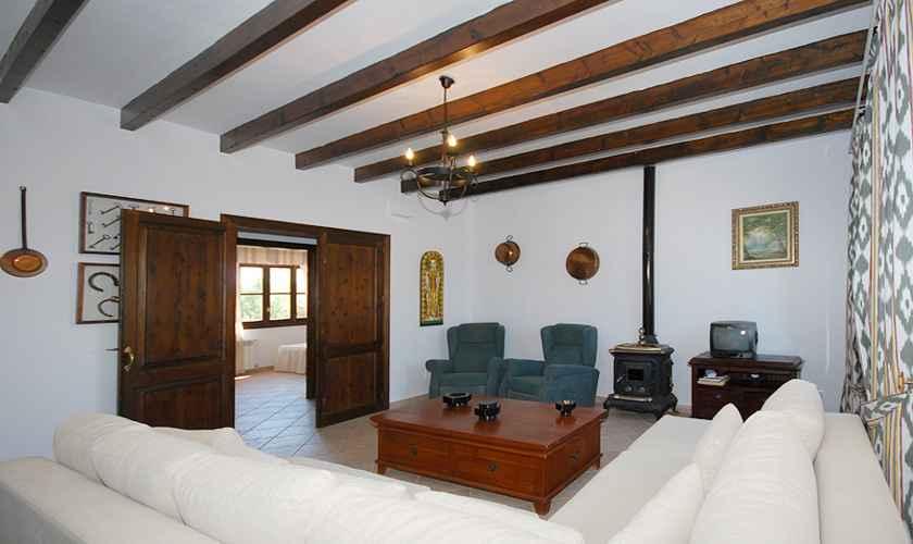 Wohnraum Finca Mallorca Süden PM 160