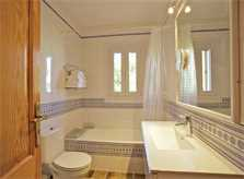 Badezimmer Ferienhaus Mallorca Süden PM 165