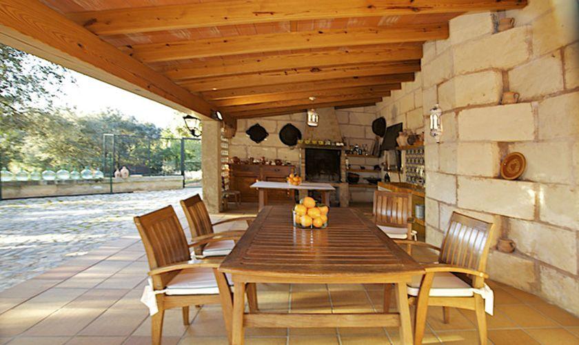 Baarbecue Ferienvilla Mallorca für 8 Personen PM 165