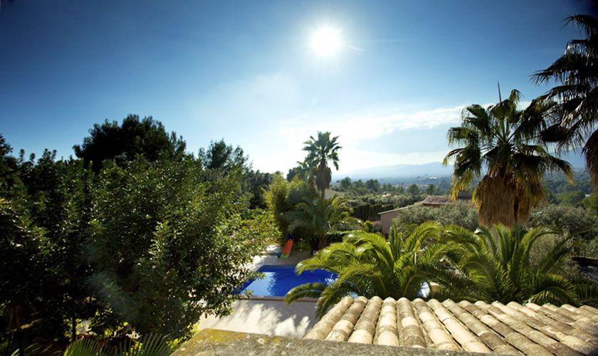 Blick von der Ferienvilla Mallorca Süden PM 165