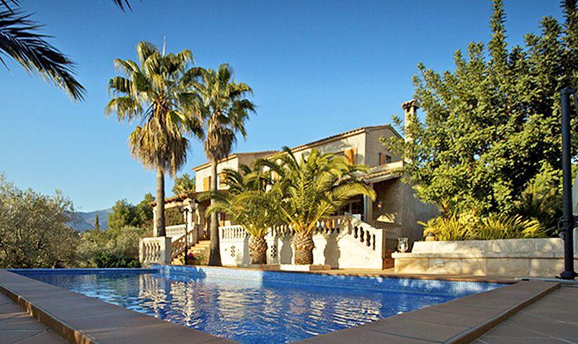 Pool und Ferienvilla Mallorca für 8 Personen PM 165