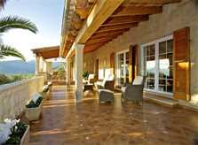 Terrasse Ferienvilla Mallorca Süden PM 165