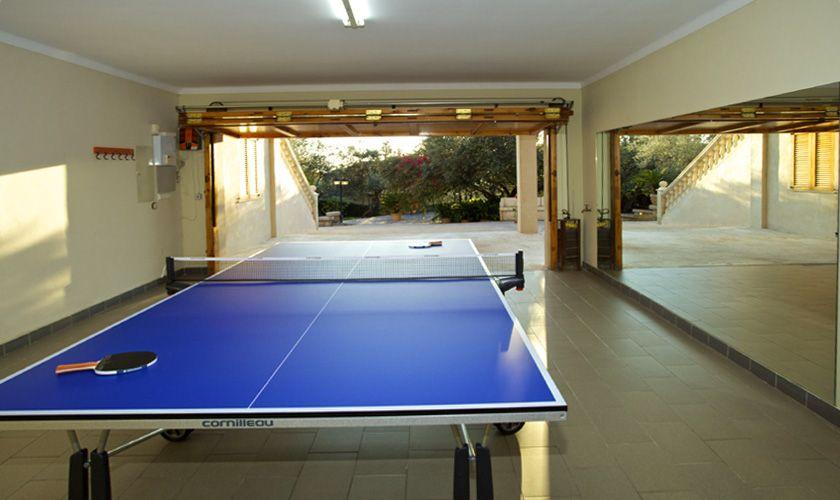 Tischtennis Ferienhaus Mallorca Süden PM 165