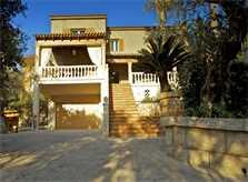 Blick auf die Ferienvilla Mallorca Süden PM 165