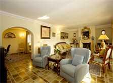 Wohnraum Ferienhaus Mallorca Süden PM 165