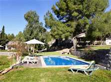 Poolblick Finca Mallorca Westküste PM 225