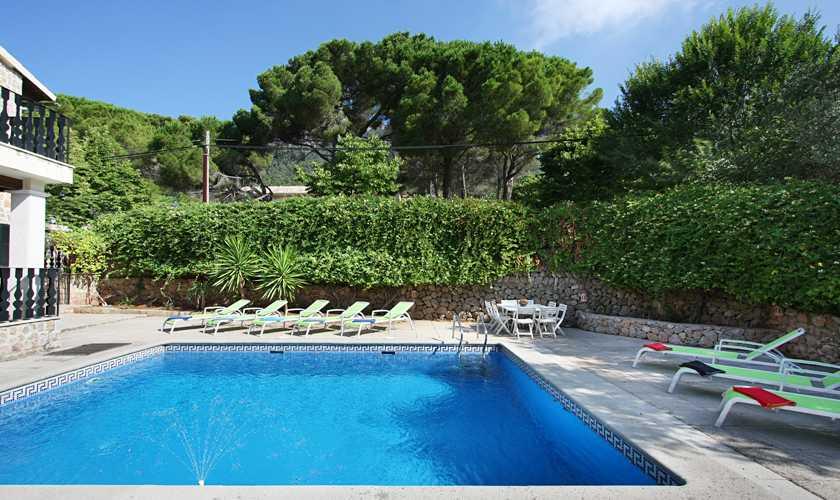 Pool und Finca Mallorca Valldemossa PM 240
