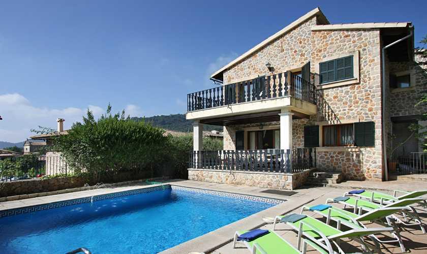 Pool und Ferienhaus Mallorca Valldemossa PM 240