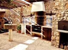 Barbecue Finca Mallorca Valldemossa PM 245