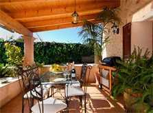 Terrasse Finca Mallorca für 6 Personen PM 301