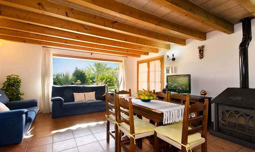 Wohnraum Finca Mallorca für 6 Personen PM 301