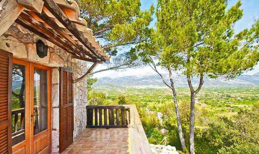 Terrasse oben Ferienfinca Mallorca PM 3021