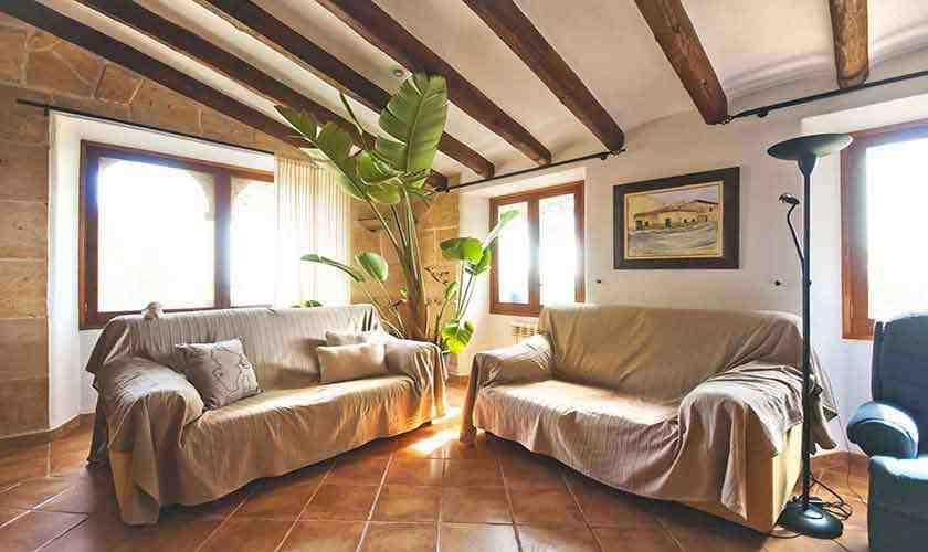 Wohnraum Ferienhaus Mallorca 6 Personen PM 3021