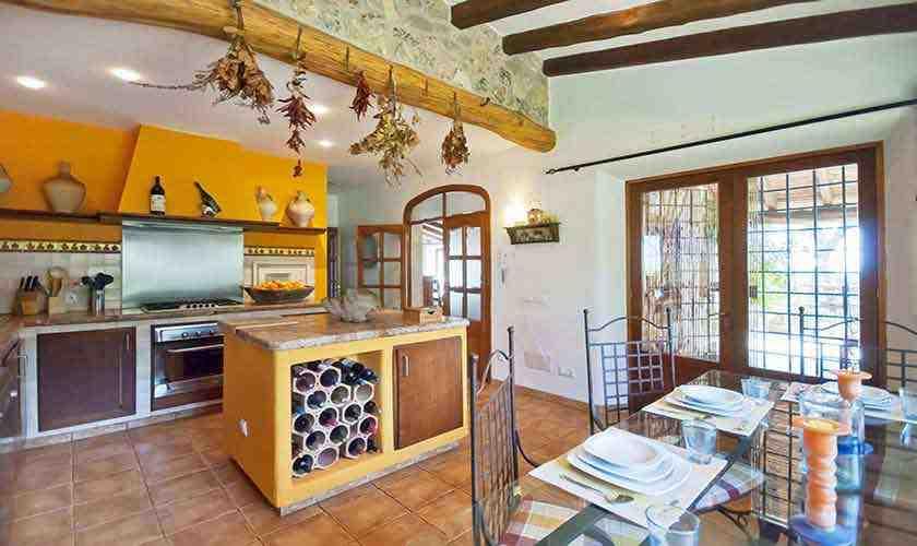 Küche Ferienhaus Mallorca 6 Personen PM 3021