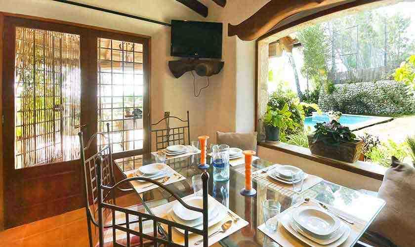 Esstisch Ferienhaus Mallorca 6 Personen PM 3021