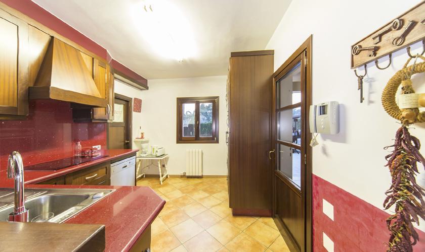 Küche Finca Mallorca 6-7 Personen PM 3026