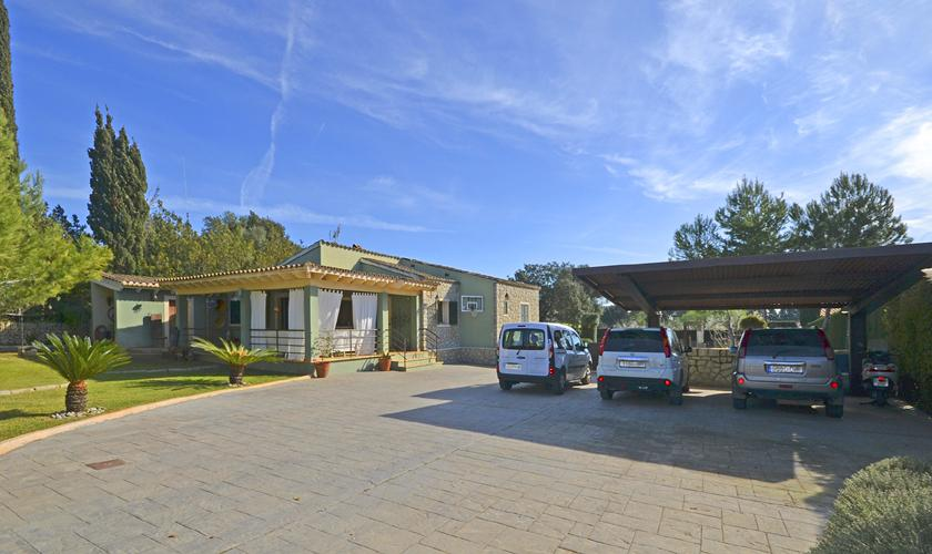Parkplatz Ferienhaus Mallorca PM 3026