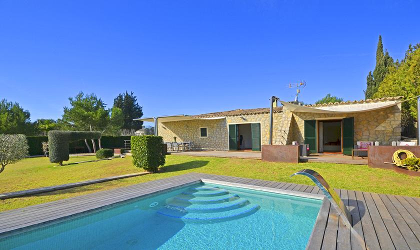 Pool und Ferienfinca Mallorca PM 3026