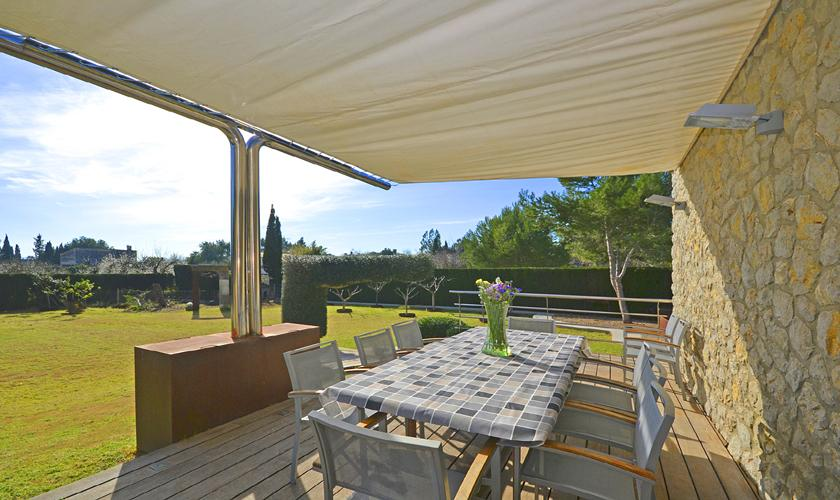Terrasse Moderne Finca Mallorca PM 3026