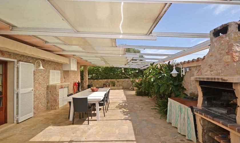 Grillplatz Ferienhaus Mallorca für 8 Personen PM 3031