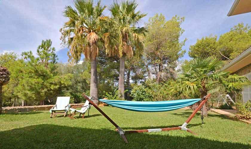 Garten Finca Mallorca für 8 Personen PM 3031