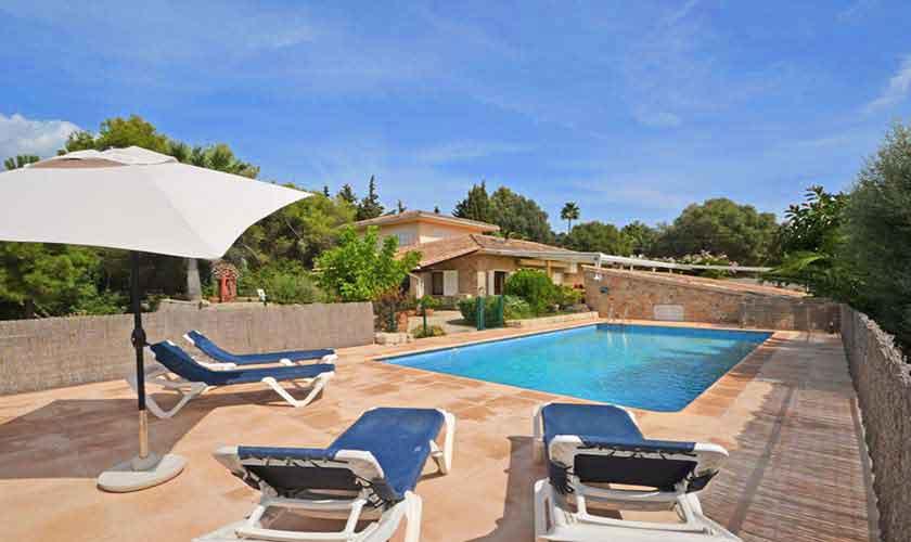 Pool und Finca Mallorca für 8 Personen PM 3031