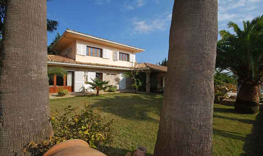 Garten Ferienfinca Mallorca für 8 Personen PM 3031