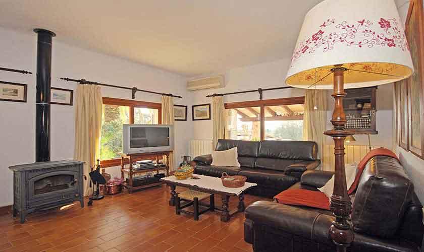 Wohnraum Ferienhaus Mallorca für 8 Personen PM 3031