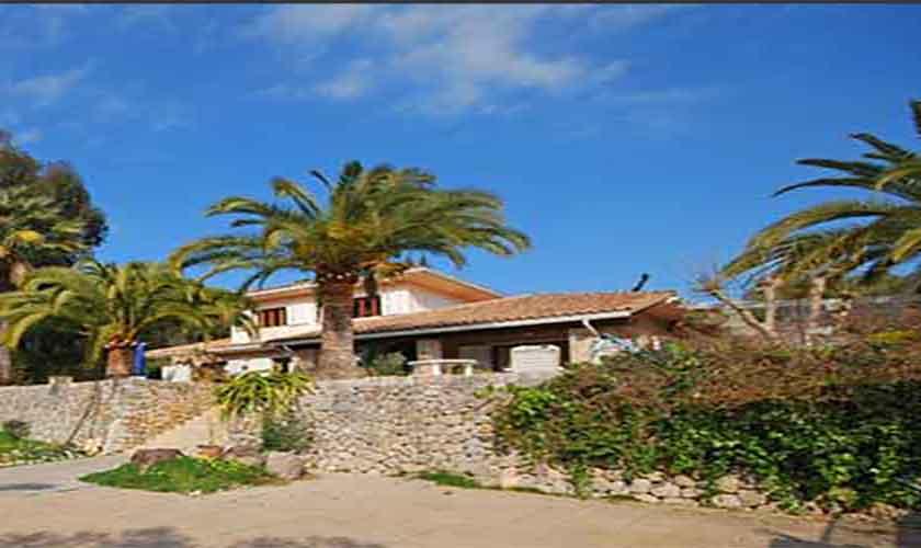 Blick auf die Finca Mallorca für 8 Personen PM 3031