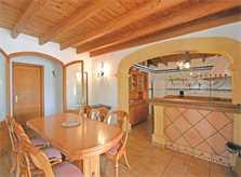 Essplatz Finca Mallorca für 8 - 10 Personen PM 3023