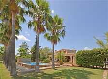 Garten Finca Mallorca für 8 - 10 Personen PM 3023