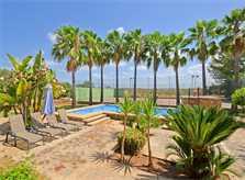 Pool und Palmen Finca Mallorca für 8 - 10 Personen PM 3023