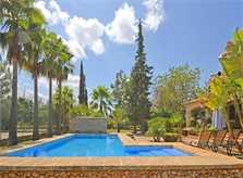 Poolblick Ferienvilla Mallorca für 8 - 10 Personen PM 3023