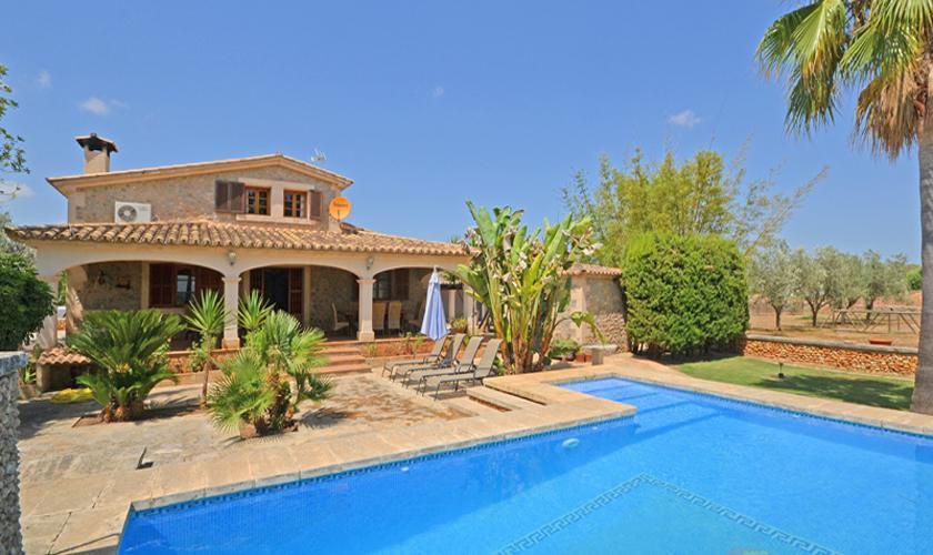 Pool und Ferienvilla Mallorca für 8 - 10 Personen PM 3023