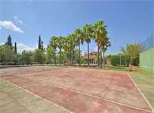 Tennisplatz Finca Mallorca für 8 - 10 Personen PM 3023