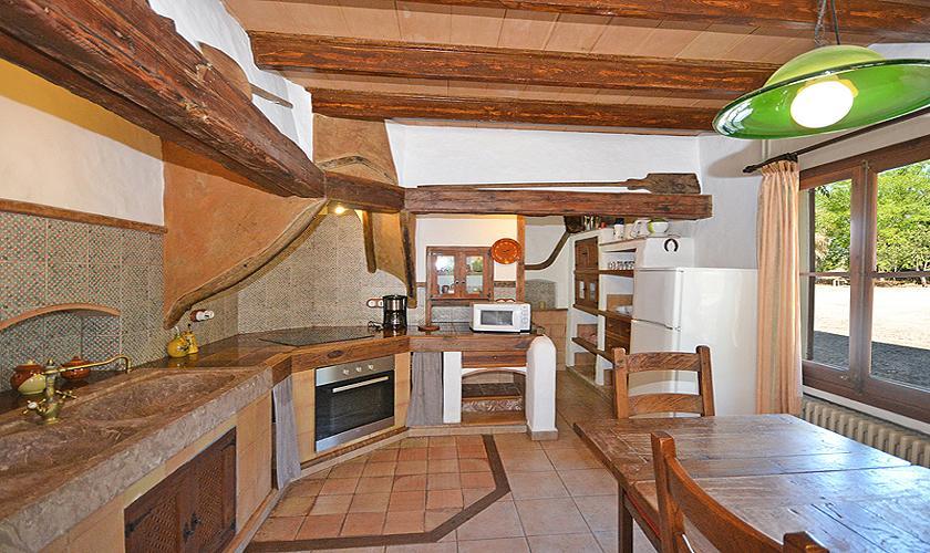 Küche Finca Mallorca Norden PM 3034