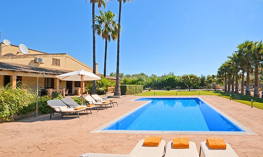 Pool und Finca Mallorca Norden PM 3034