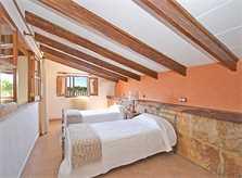 Schlafzimmer Finca Mallorca Norden PM 3034