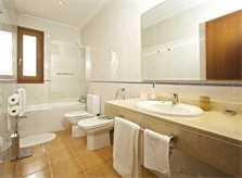 Badezimmer Ferienhaus Mallorca 8 Personen PM 3035
