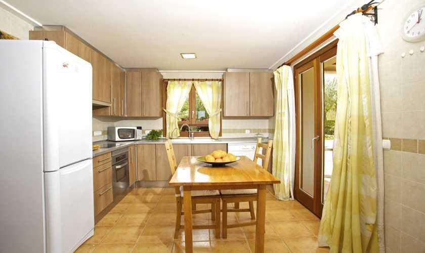 Küche Ferienhaus Mallorca 8 Personen PM 3035